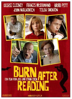Burn After Reading, Smart People, Jamming/Bob Marley ...